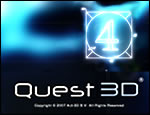 Quest3D Splash Screen